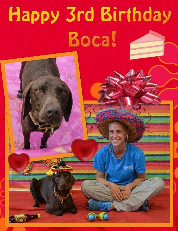 Boca's Birthday!