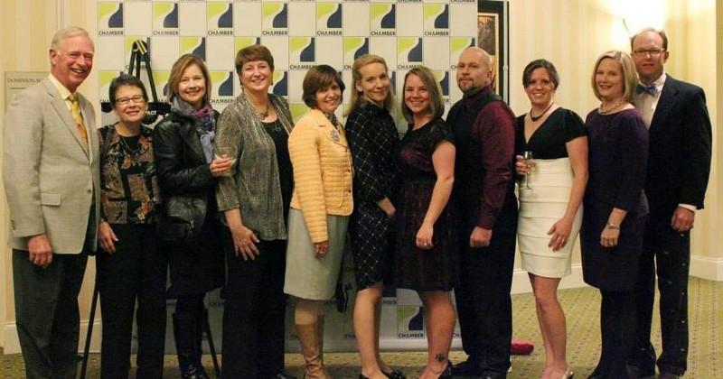 GRCC Impact Award dinner in 2013!