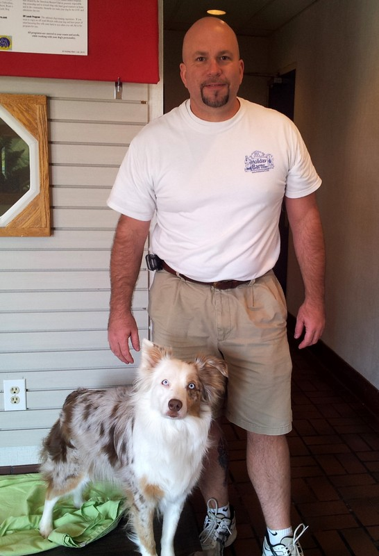 Southside manager, Bob (and Pickles!)!