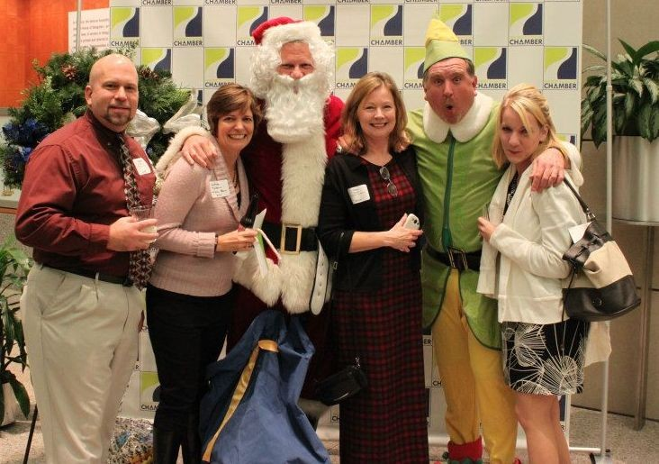 Bob, Martha, Tina and Kat at GRCC Christmas Party!