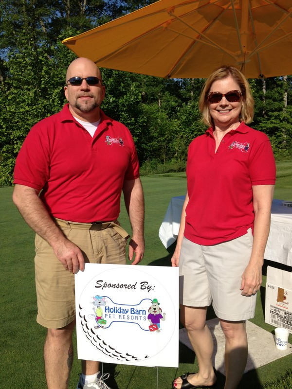 Bob and Tina at Fetch a Cure's Bow Tie Open!