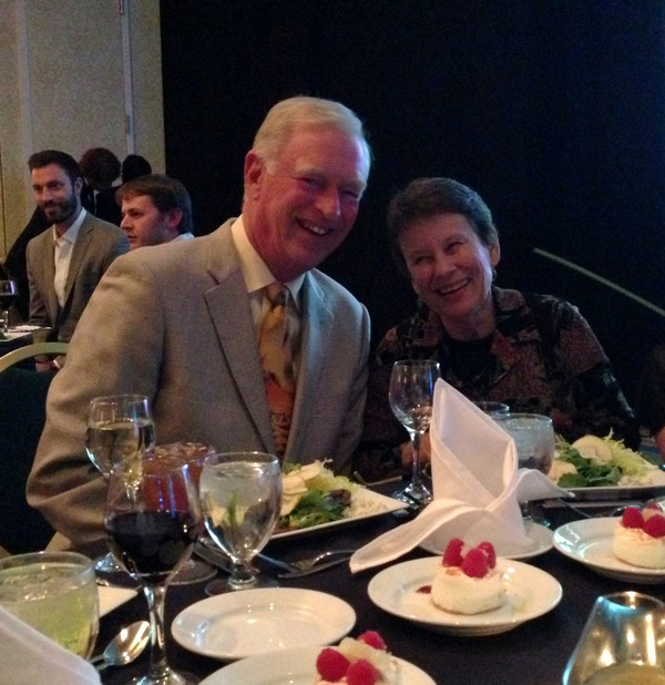 Emerson and Kathy at Impact Award dinner!