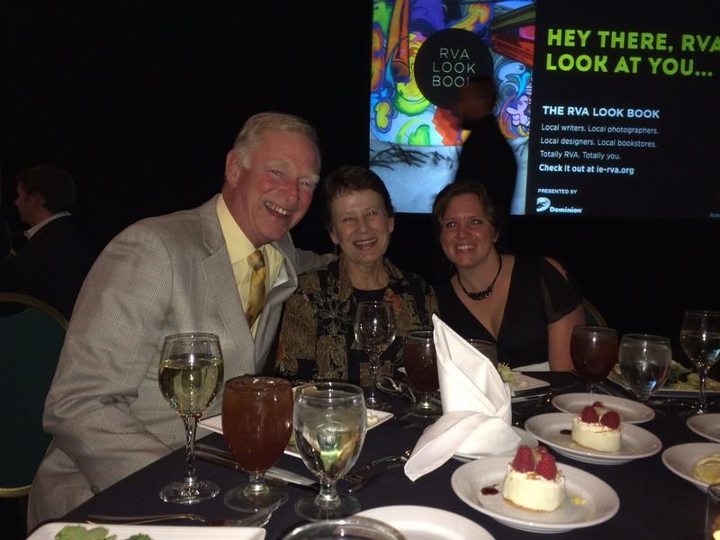 Em, Kathy and Melanie at Impact Award dinner!