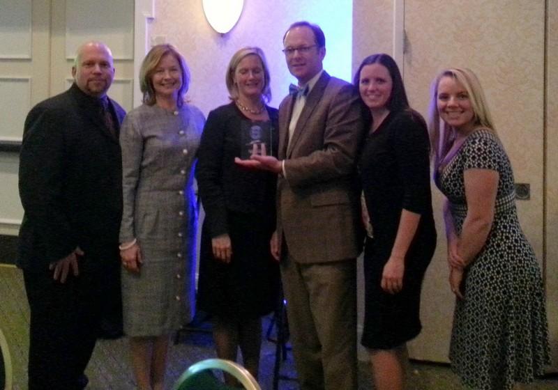 GRCC Impact Award dinner in 2012!