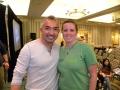 Melanie with Cesar!