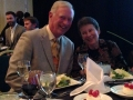 Emerson and Kathy at Impact Award dinner!