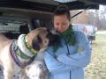 Zhenga and Melanie at Mardi-Paw event!