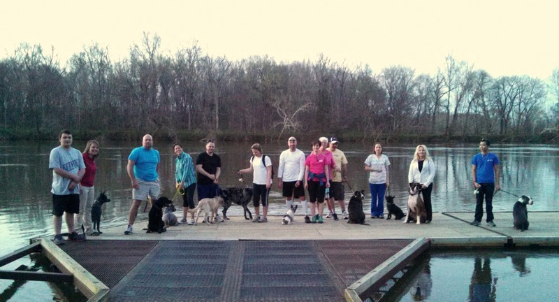 Pack Walk on the James River!