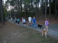 Deep Run Park pack walk.