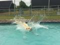 Trevor makes a splash!