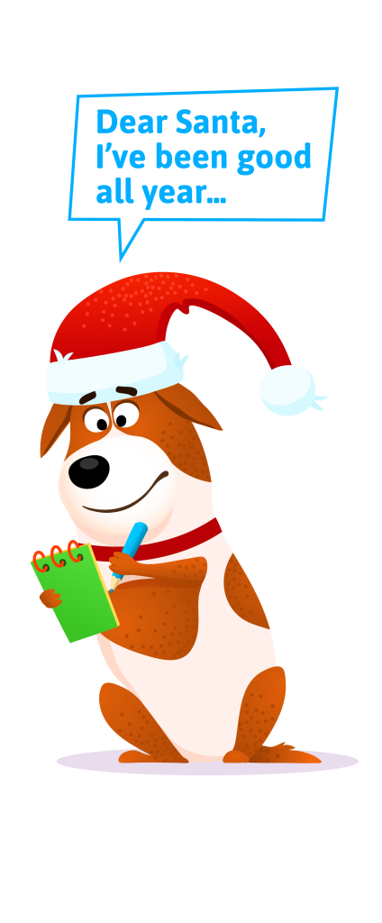 Letter To Santa Paws