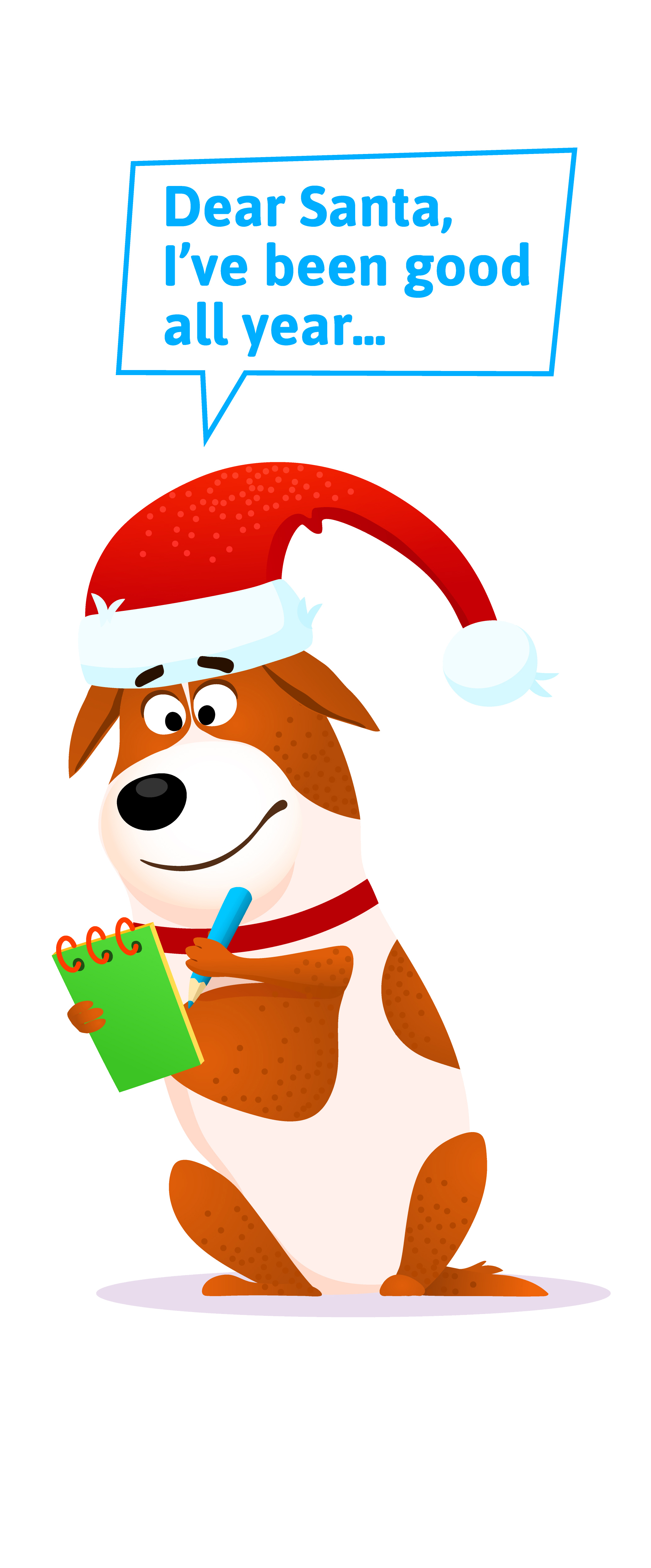 Write A Letter To Santa Paws  Holiday Barn