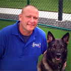 Jeff Postle is the Dog Trainer at Holiday Barn South.
